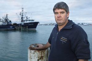 Bay of Plenty Commercial Fishermen's Association president Brian Kiddie.