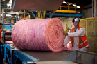 The Tasman Insulation plant in Penrose. Manufacturing took off in New Zealand last month. Photo/ Dean Purcell.