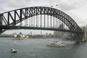 The iconic Sydney Harbour Bridge. Photo / Mark Mitchell