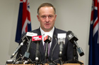 Prime Minister John Key yesterday refused to be drawn on whether New Zealand's spies used the system. Photo / Mark Mitchell