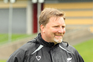 New Zealand U'20s coach Chris Milicich. Photo / Jana Dixon.