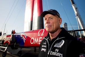 Emirates Team New Zealand managing director Grant Dalton. Photo / Natalie Slade