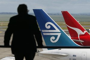 Air New Zealand and Qantas are among the airlines that paid a penalty. Photo / Dean Purcell