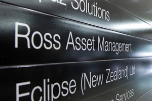 The Ross Asset Management office in Wellington, seen in November 2012. Photo / Mark Mitchell