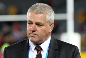 Lions coach Warren Gatland has distanced himself from spying allegations levelled at the Wallabies. Photo / Janna Dixon