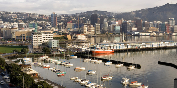 New online job ads and business confidence are on the rise in Wellington. Photo / Mark Mitchell