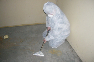 Safely removing asbestos from a house can be a long process. File photo / NZ Herald
