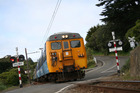 KiwiRail says it'll investigate an incident where a wheelchair-bound passenger and companion were left stranded on a ramp as a train pulled away. Photo / file