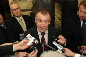 Labour MP Trevor Mallard. Photo / Andrew Labett
