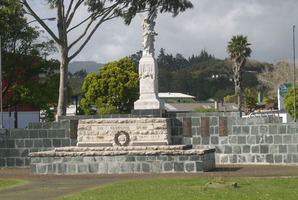 For cemeteries where three or fewer New Zealanders are buried, the men are named and links are provided to their service record information on the Cenotaph website.  Photo / Peter Jackson