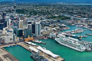 The much-sought-after Auckland waterfront. Photo / Bruce Clarke, Incredible Images