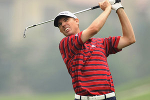 Kiwi golfer Steve Alker fired a five-over par 75 in the third round of the US Open