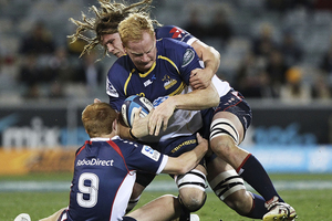 Jordy Reid had 20 points for the Brumbies. Photo /Getty Images