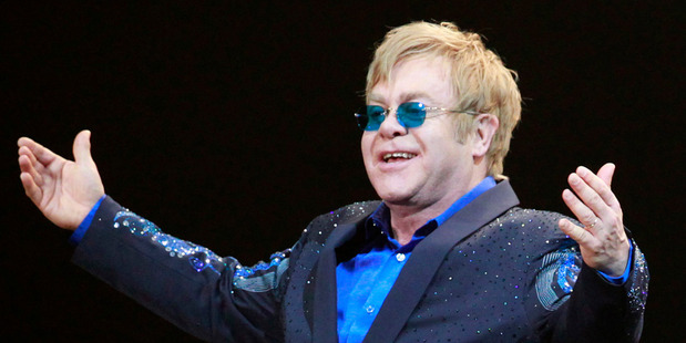 Elton John. Photo/AP