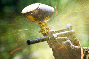 Three paintball guns had been recovered. Photo / File / Thinkstock