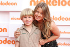Bindi Irwin, with her brother Robert. Photo / Getty Images