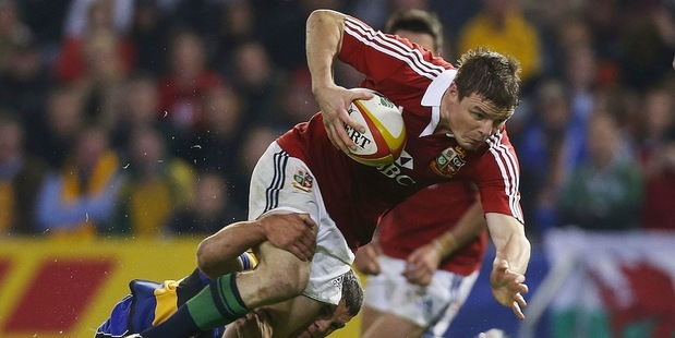 The Lions and Wallabies clash for the first test in Brisbane. Photo / Getty images