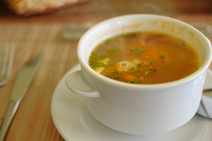 Soup can be more dangerous than it looks, with ACC receiving claims from people burning their mouths on hot soup and injured feet from dropped cans of soup. File photo / Thinkstock