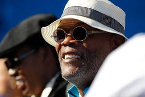 Samuel L Jackson says he used to turn up to auditions drunk and smelling of alcohol. Photo / AP