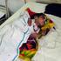 Anup Kumar, 4, is treated for encephalitis at a hospital in Gorakhpur in Uttar Pradesh state, India. Photo / AP