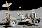 The Lunar Rover Vehicle.
