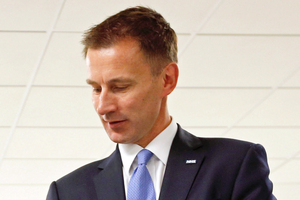 Health Secretary Jeremy Hunt. Photo / Getty Images