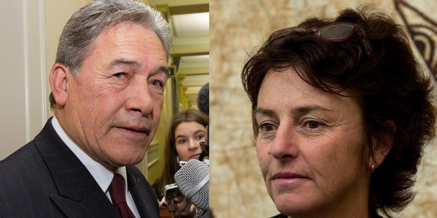Winston Peters says he will send a copy of his speech to Dame Susan Devoy. Photo / Mark Mitchell, Brett Phibbs