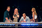 X Factor NZ judges Daniel Bedingfield, Ruby Frost, Stan Walker and Melanie Blatt.