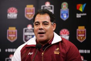 Coach Mal Meninga. Photo / Getty Images