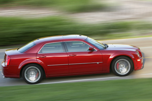 Chrysler 300C SRT.