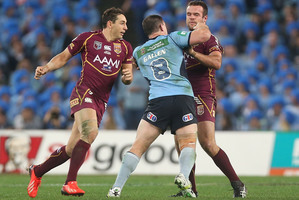Paul Gallen's Origin attack on Nate Myles drew a major backlash. Photo / Getty Images
