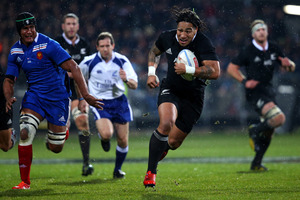 Ma'a Nonu of the All Blacks. Photo / Getty Images