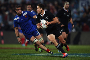 Israel Dagg justified his selection last night.  Photo / Getty Images