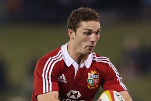 George North is making strides. Photo / Getty Images