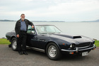 Clive Butler is thinking of selling his 1977 Aston Martin AMV8 to focus on his other cars. Pictures/ Jacqui Madelin