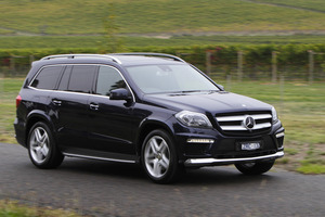 The Mercedes-Benz GL 350 BlueTec can carry seven occupants with space to spare.