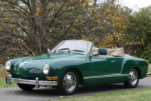 This sought-after late model 1973 Volkswagen Karmann Ghia Convertible, believed to have had a fleeting film role, is expected to sell with no reserve in the A$14,000-$18,000 range at Shannons Melbourne Winter Classic Auction on July 1.