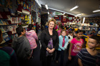 Frances Nelson, principal of Fairburn Primary, Otahuhu. Photo / Michael Craig
