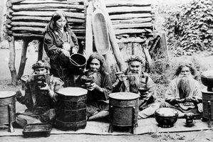 The Ainu were an ancient hunter/gatherer society with their own language, culture and religion. Photo / AP