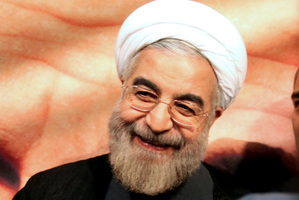 Hassan Rowhani won praise as Iran's nuclear negotiator. Photo / AP