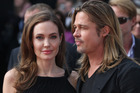 Angelina Jolie, pictured with partner Brad Pitt, chose to undergo a double mastectomy. Photo / AP