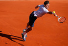 Roger Federer suffered an unusually early exit from the French Open. Photo / AP