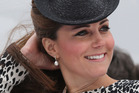 The Duchess will stay at Kensington Palace or with her parents in Berkshire until her July due date. Photo / AP