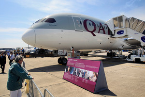 Qatar Airways, which was set up in 1994, will give trainees a conditional offer of employment. Photo / AP
