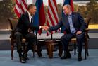 President Barack Obama meets with Russian President Vladimir Putin. Photo / AP