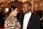 Kim Kardashian and Kanye West are looking forward to taking their baby home. Photo / AP
