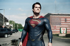 Marketing has drawn parallels between Superman and Jesus Christ. Photo / AP