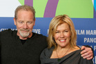 Robyn Malcolm's relationship with Top of the Lake co-star Peter Mullan 'is going strong', say friends. Photo / AP
