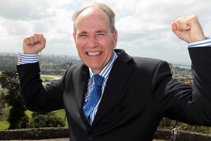Currently, Auckland's mayoralty race lacks competitive interest, says Bob Jones. Photo / Doug Sherring