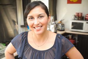 Former MasterChef contestant Andrea Bathgate recently graduated from Le Cordon Bleu cooking school in Wellington. Photo / Jason Dorday